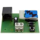 Lakáskészülék panel Fermax és Codefon kaputelefonokhoz, 1+1 vezetékes, diódás.