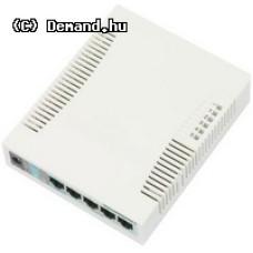 MikroTik RB260GS 5xGig LAN, 1xSFP,web browser