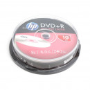 HP DL DVD+R 8,5Gb  10db/henger 8x