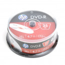 HP DVD-R 4,7Gb  25db/henger 16x