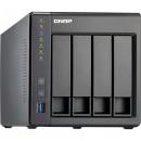 QNAP TS-451+-2G (NAS, 4HDD hely, SATA, CPU: Quad Core 2.42Ghz, RAM: 2GB, 2x RJ-45, 2x USB2.0, 2x USB