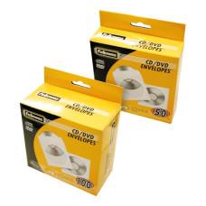 4World Papír CD/DVD ablakos boríték 100 db. 01357