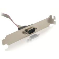 Gembird DB9M - COM 9PIN csatlakozó aljzat, 25cm, bulk csomagolás CCDB9RECEPTACLE