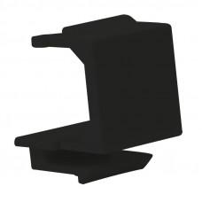 LOGILINK- Keystone Panel for 24 Keystone Jacks / Coupler, unshielded, black NK4043