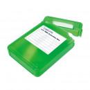 LOGILINK - 3.5'' HDD védő doboz green UA0133G