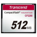 Transcend Industrial CF CF220I 512MB memória kártya TS512MCF220I