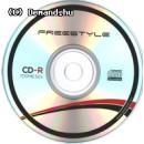 OMEGA-FREESTYLE CD lemez CD-R80 52x Papír tok OFK1