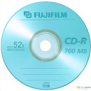 Fuji 80'/700MB 52x CD-R írható CD lemez papír tok