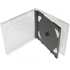 ESPERANZA Box with Black Tray for 2 CD/DVD ( 200 Pcs. PACK) 3018 - 5905784762746