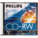 CD lemez Philips 80' RW 12x