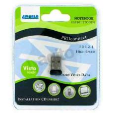 4World Bluetooth 2.0 10m, Micro Adapter 03476