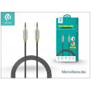 Devia 3,5 - 3,5 mm jack audio kábel 1 m-es vezetékkel - Devia iPure Audio Cable - black ST986667