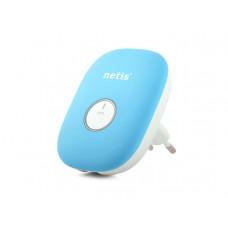 NETIS E1+ WIFI REPEATER, 300 MBPS + RJ-45 Kék E1PLUSB