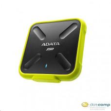 512GB ADATA SD700 külső SSD meghajtó fekete-sárga (ASD700-512GU3-CYL)