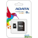 A-Data 8GB MicroSDHC Class 4+ Adapter