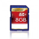 SILICON POWER 8GB Secure Digital Card CL10