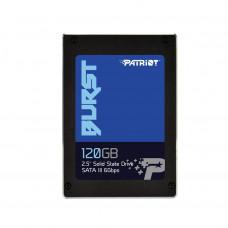 Patriot SSD Burst 120GB 2.5'' SATA III read/write 560/540 MBps, 3D NAND Flash PBU120GS25SSDR