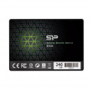 Silicon Power SSD Slim S56 240GB 2.5'', SATA III 6GB/s, 3D TLC NAND, 7mm SP240GBSS3S56B25