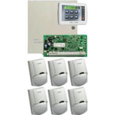 DSC PC1864NKE + PTK5507 + 6 db LC100
