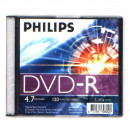 DVD lemez Philips 4,7GB R slim