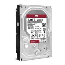 Internal HDD WD Red 3.5'' 6TB SATA3 256MB IntelliPower, 24x7, NASware™ WD60EFAX